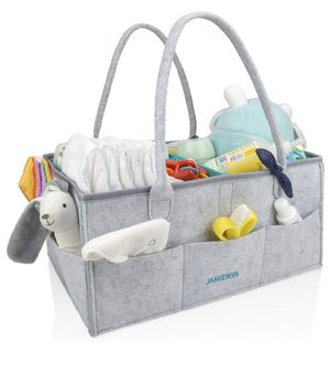 Baby Diaper Caddy Organizer Nursery Storage Bin and Portable Holder Bag for Newborn Baby Diapers Toys Clothes Gifts for Sale in Piscataway, NJ