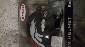 Denver Broncos Riddell Mini Helmet for Sale in North Little Rock, AR