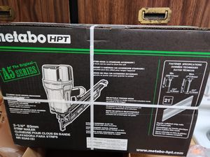 Brand New In the box metabo framing nail gun for Sale in Tacoma, WA