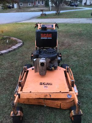"""36"""" SCAG Pro walk behind with Sulky for Sale in Riverdale, GA"""