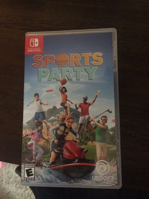 Nintendo switch- Sports Party for Sale in Rockville, MD