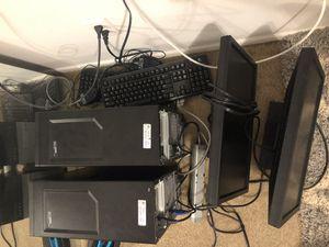 2 Dell Optiplex computers w/ monitor, new hardrive and wireless capability for Sale in Winter Park, FL