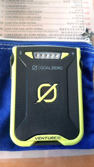Goal Zero Venture 30 Powerpak for Sale in Whittier, CA