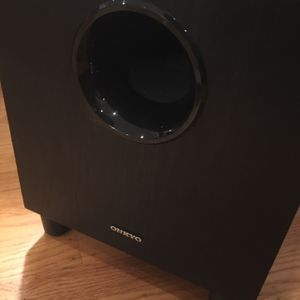 Onkyo 8-inch Passive Subwoofersd for Sale in Daly City, CA
