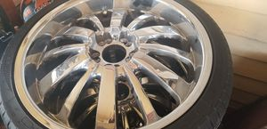 20 in chrome rims excellent condition for Sale in Lynn, MA