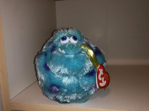 Monsters Inc Sully plush doll round ball toy dreamworks Disney NWT for Sale in Phoenix, AZ
