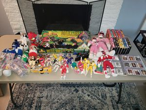 Power Rangers Collection - Toys Modern & Vintage Funko VHS Tapes Cards ETC for Sale in Tacoma, WA