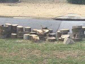 Free wood fire wood / ready for pickup in my front yard / Marietta East cobb for Sale in Marietta, GA