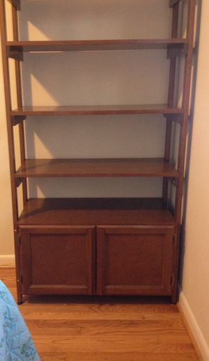 Cabinet on bottom with shelves on top for Sale in Dumfries, VA