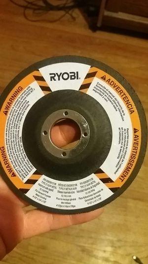 Ryobi type 27 a24r metal grinding wheel for Sale in El Cajon, CA