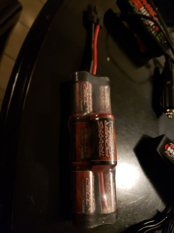 8.4v traxxas battery and chargers
