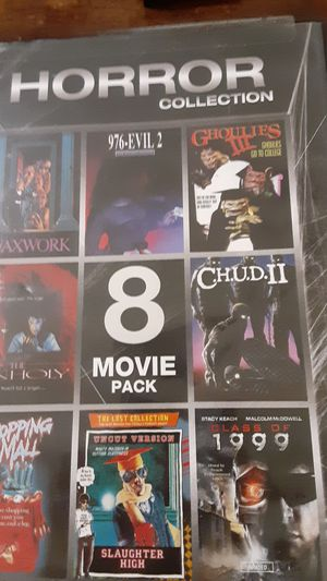 Horror collection dvd for Sale in Grand Saline, TX
