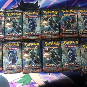 Pokemon Burning Shadows Booster Packs for Sale in Redmond, WA