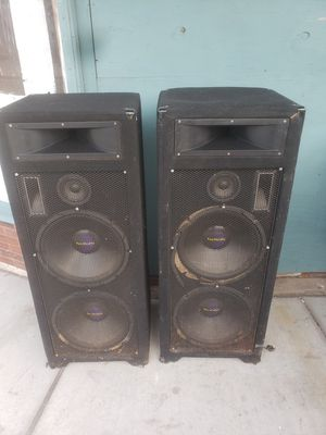 PRO AUDIO SPEAKERS (WORKS) for Sale in St. Louis, MO