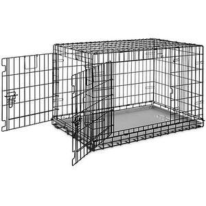 "You & Me Ultra Tough 2-Door Folding Dog Crate, 37""L x 24""W x 25""H for Sale in Las Vegas, NV"