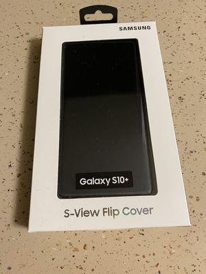Samsung Galaxy s10+ S-view Flip cover case. for Sale in La Mesa, CA