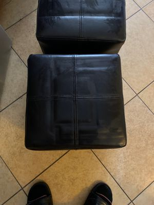 FREE! Two (2) Small Ottomans for Sale in Santa Ana, CA