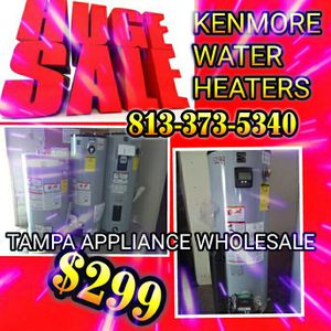 Gas and electric water heater for Sale in Tampa, FL