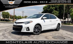 2016 Toyota Corolla for Sale in Montclair, CA