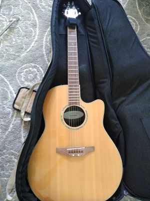 Acoustic/electric guitar with case and equipment for Sale in Saint Petersburg, FL