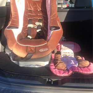Pink Car Seat for Sale in Oklahoma City, OK