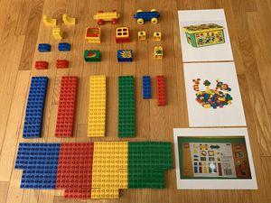 LEGO Duplo Storage Chest (plus a bonus: additional parts/pieces) for Sale in Shrewsbury, MA