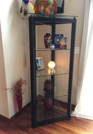 Glass and Steel Display Shelves for Sale in Oakland, CA