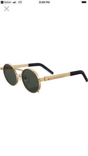 Supreme Jean Paul Gaultier Gold sunglasses SS19 for Sale in Avondale, AZ