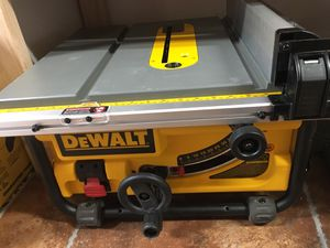 DEWALT 15-Amp Corded 10 in. Compact Job Site Table Saw with Site-Pro Modular Guarding System for Sale in Bakersfield, CA