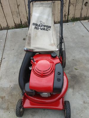 Snapper push lawn mower works great for Sale in Colton, CA
