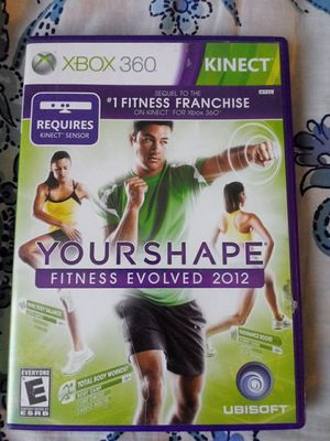Your shape fitness evolved 2012 kinect for Sale in Phoenix, AZ