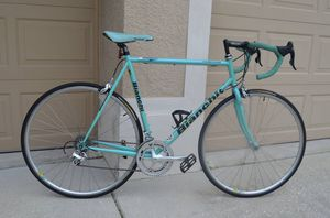 Bianchi Campione Triathlon, Road Bike, Steel, Campagnolo for Sale in Land O' Lakes, FL