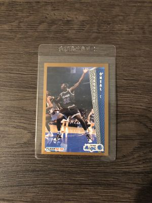 Shaq vintage collectible card for Sale in Culver City, CA