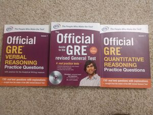GRE Prep Books for Sale in Reading, MA