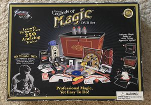 Deluxe Legends of Magic DVD Set by Fantasma Magic for Sale in Woodridge, IL