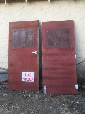 Heavy duty Steel Door for Sale in Modesto, CA