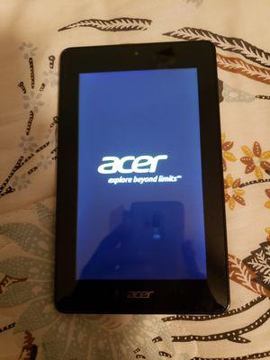 2014 Tablet Acer for Sale in Glassboro, NJ