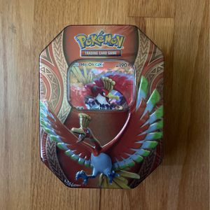 Pokemon Mysterious Powers Ho-Oh GX Tin Set Sealed- NEW for Sale in Seattle, WA