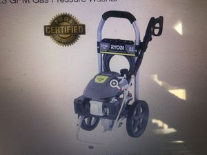 Ryobi. Model RY802700A. 2700 Psi 2.3 GPM gas pressure washer for Sale in Miami, FL