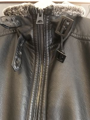 Guess leather jacket for Sale in Rockville, MD