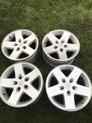 """Jeep wheels/rims 17"""" stock for Sale in Chicago, IL"""