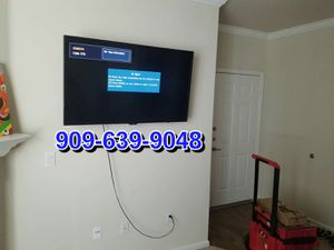 TV mounting available same day or next day for Sale in Ontario, CA