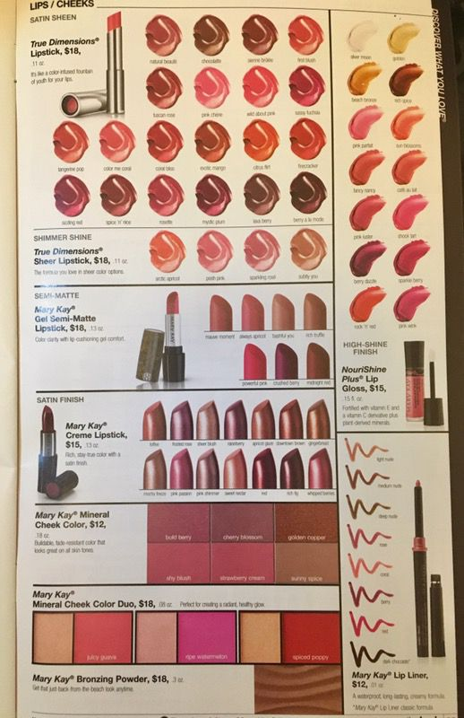 Huge variety of Mary Kay items on sale at 50% off!