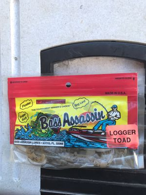 Bass Assassin logger toad fishing lure bait for Sale in Greensboro, NC