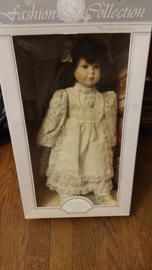 Fashion collection genuine porcelain doll for Sale in San Angelo, TX