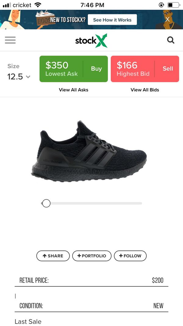 Adidas Ultra Boost 3.0 DS New