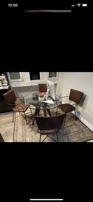 Dining table / chairs / working desk for Sale in Palo Alto, CA