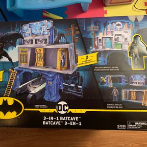 Brand New In Box Batman 3in1 Bat cave Playset for Sale in Montgomery, AL
