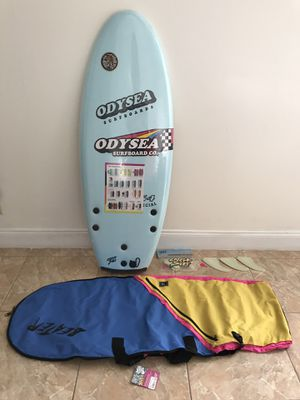 "Odysea surfboards odysea surfboard co 4'6"" 54-special pro tri Jamie O'Brien obrien beater catch surf performance tri fin kit brand new for Sale in Miami, FL"