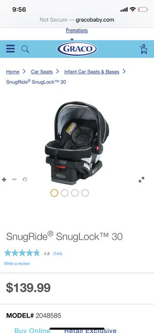 Graco car seat, 2 bases, click connect stroller for Sale in Waterloo, IA